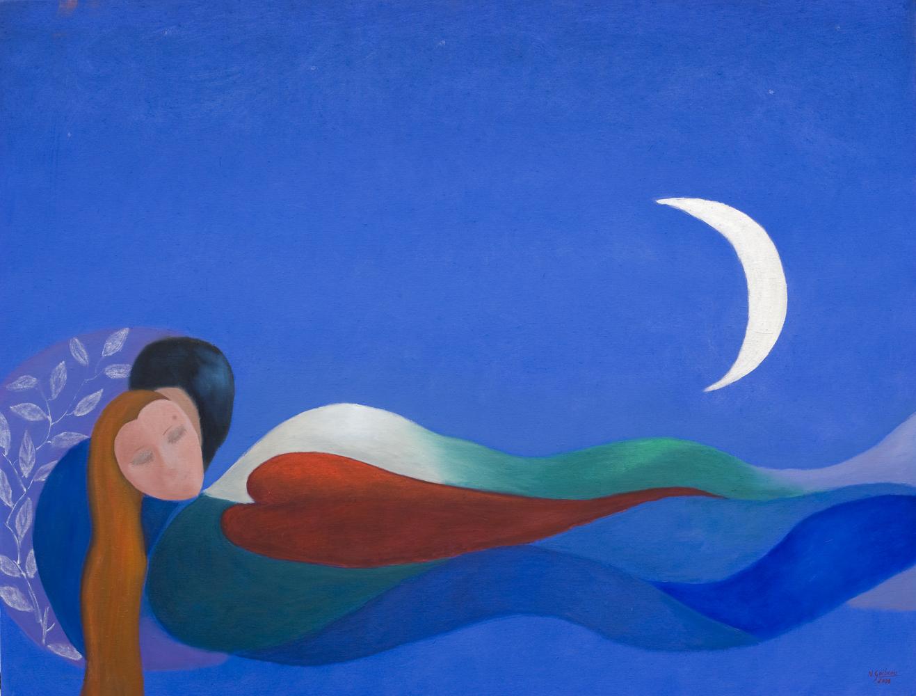 Mari Urdin<br /> <br /> Diosa del Azul
