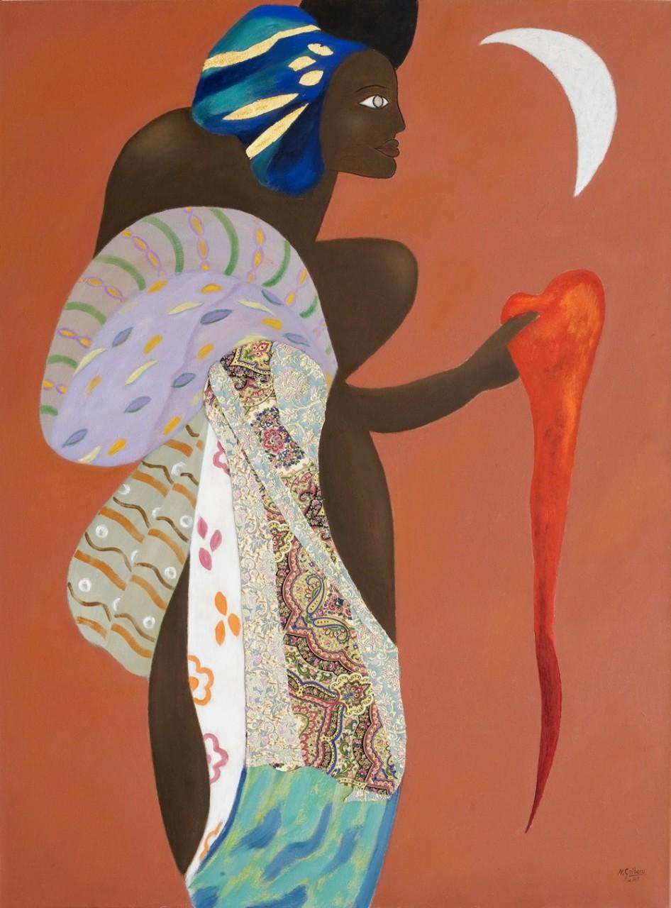 7-Diosa Africana