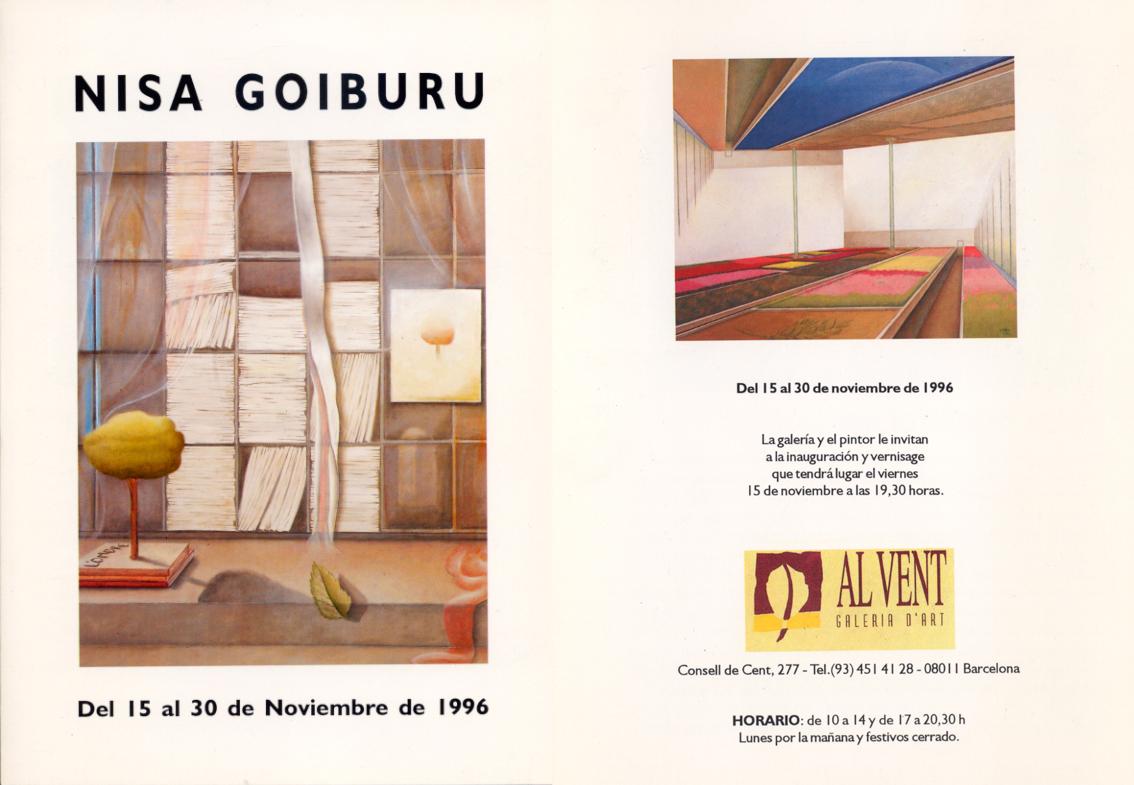 Al Vent<br />Galeria d´Art<br />(Barcelona) 1996