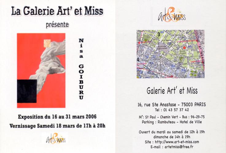 La Galerie Art' et Miss<br />(París) 2006